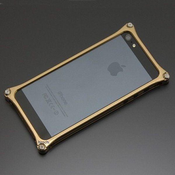 ギルドデザイン ソリッドバンパー iPhone5 チタン GI-222T HD店