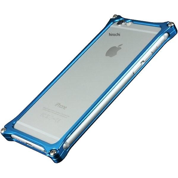 41405 ギルドデザイン ソリッドバンパー for iPhone6/6S ブルー GI-242BL HD店