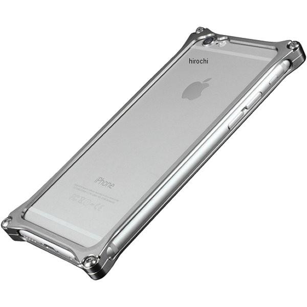 41406 ギルドデザイン ソリッドバンパー for iPhone6/6S グレー GI-242GR HD店
