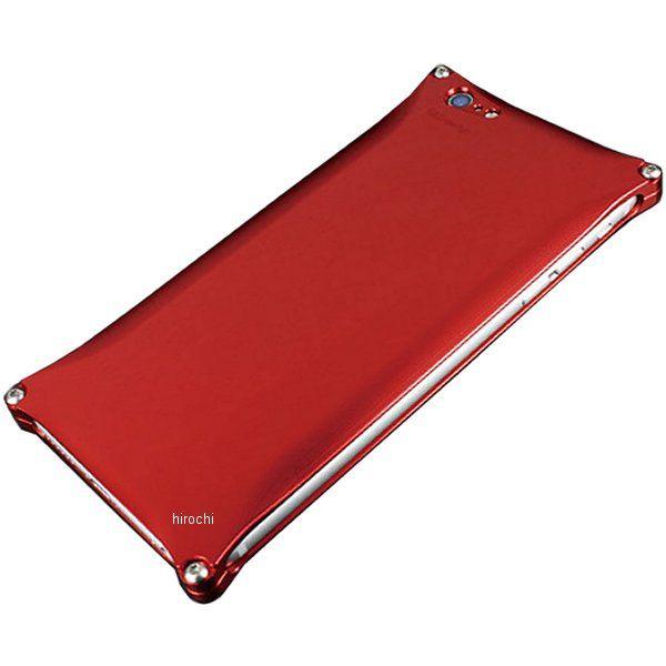 41101 ギルドデザイン ソリッド iPhone6Plus レッド GI-250R HD店