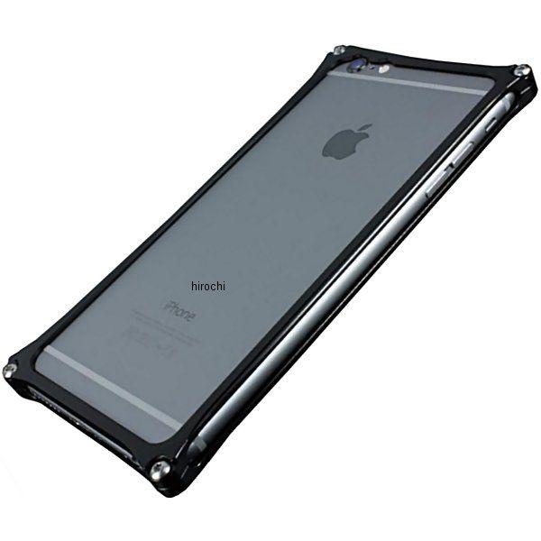41116 ギルドデザイン ソリッドバンパー iPhone6Plus 黒 GI-252B HD店