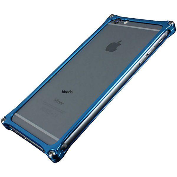 41119 ギルドデザイン ソリッドバンパー iPhone6Plus ブルー GI-252BL HD店