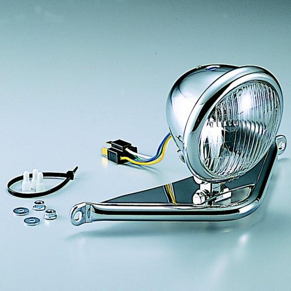 【メーカー在庫あり】 ハリケーン ロード系 ヘッドライトキット 4.5ベーツタイプヘッドライト ・TW225E/TW200/E HA5606 HD店