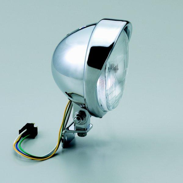 【メーカー在庫あり】 ハリケーン アメリカン系 ヘッドライトキット 5.5ベーツバイザータイプ ヘッドライト ・ビラーゴ250/400 HA5631 HD店
