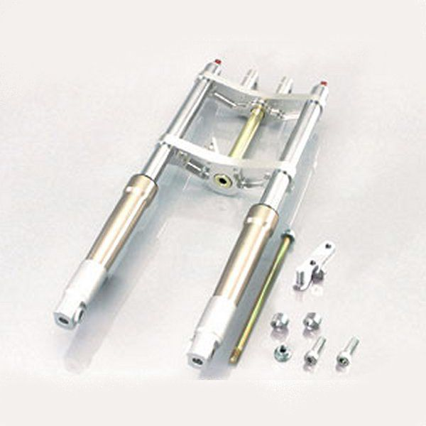 キタコ φ30 ワイドピッチフロントフォークキット タイプX ゴールド ドラムブレーキ用 モンキー / ゴリラ 500-1137400 HD店