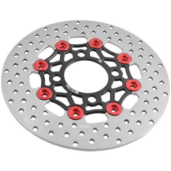 キタコ フローティングディスクローター グロム/PCX ブラック/レッド 500-1432700 HD店