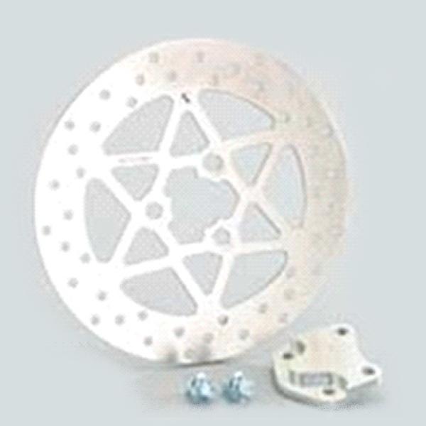 【メーカー在庫あり】 ビッグディスクローターKIT(Φ210mm) for アドレスV125/-G 500-2407880 HD店
