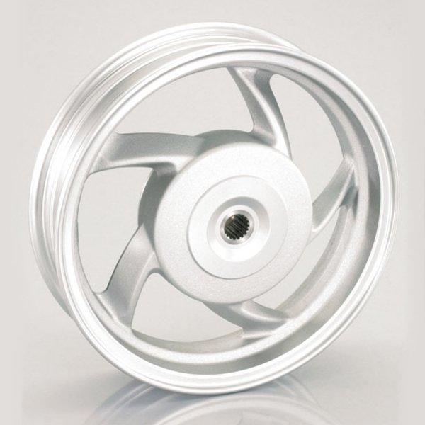 【メーカー在庫あり】 キタコ 10インチ5スポークアルミキャストホイール (リア/シルバー) forアドレスV125/-G( 509-2407800 HD店