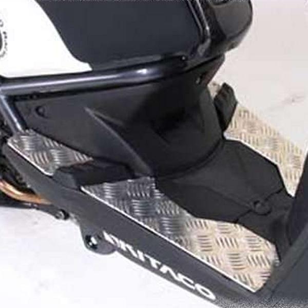 【メーカー在庫あり】 キタコ ステップボード(シルバー)for BW'S125 538-0412000 HD店