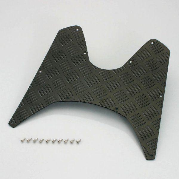 【メーカー在庫あり】 キタコ ステップボード ブラックアルマイト Dio110 538-1427010 HD店