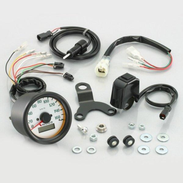 【メーカー在庫あり】 キタコ スピードメーターキット (160km/h) ・ZOOMER FI車 752-1135100 HD店