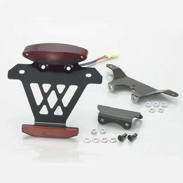 【メーカー在庫あり】 キタコ LED テールランプキット スーパースリム 赤色レンズ TLシート装着車用 モンキー 801-1017910 HD店
