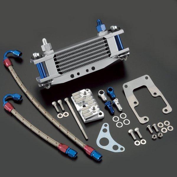 シフトアップ EARL'S #4 ホース オイルクーラーキット Type1 シルバー モンキー 407501-03 HD店