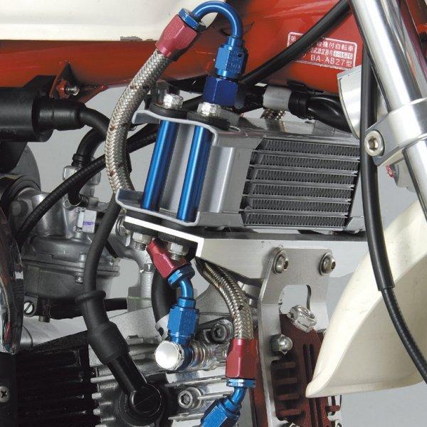 シフトアップ EARL'S #4 ホース オイルクーラーキット Type2 シルバー モンキー 407503-03 HD店