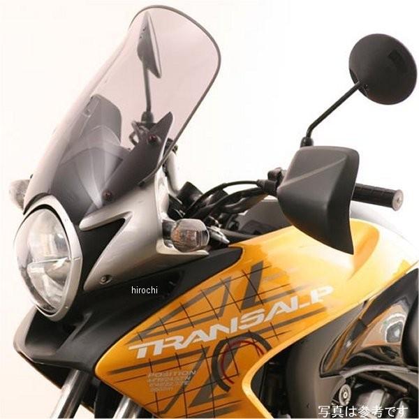 エムアールエー MRA スクリーン ツーリング 08年-10年 XLV700 トランザルプ スモーク 4547567735939 HD店