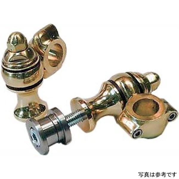 イージーライダース 7インチ ドッグボーン ライザー 7/8インチ(22.2mm)ハンドル用 汎用 真鍮 MIS0034 HD店