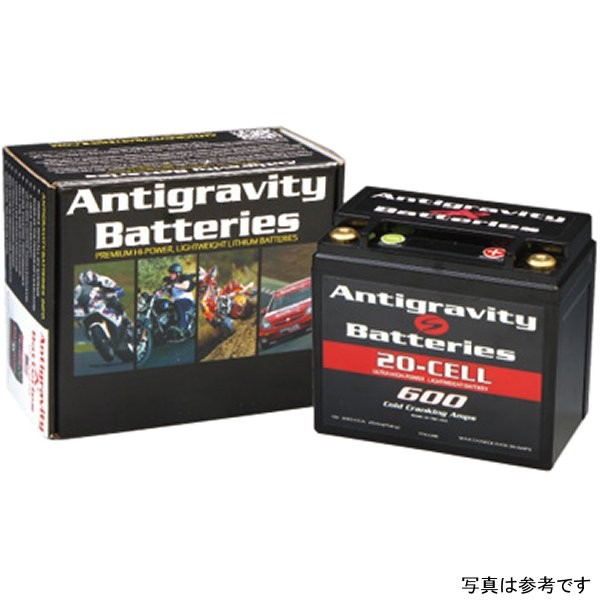 イージーライダース アンチグラビティー リチウム バッテリー 12セル 12Ah 360CCA YTX12-12R互換 ANT0007 HD店