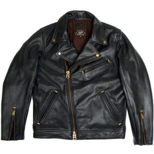 イージーライダース ダブル ライダース ジャケット Lサイズ 黒 VAA0082L HD店