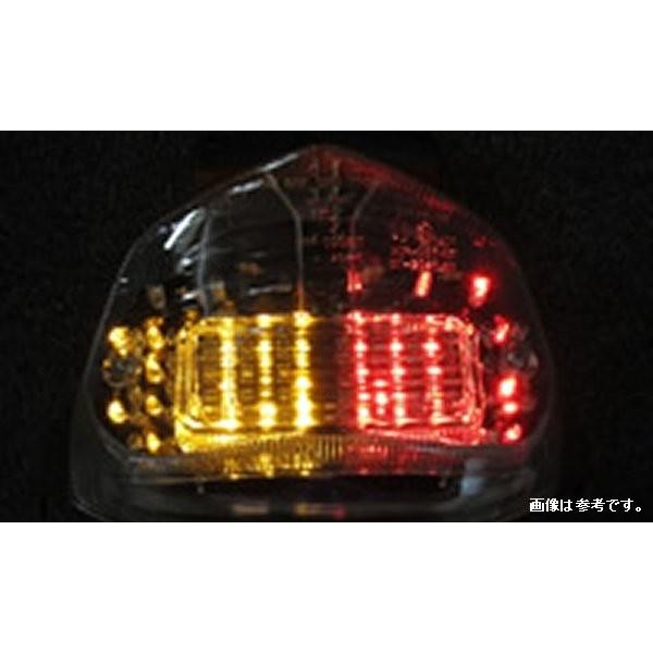 オダックス Odax インテグレートテール ライト クリア スズキ GSXR600 01年-03年 /750 00年-03年 /GSXR1000 01年-02年 JST-353002-W HD店