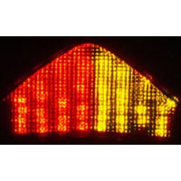 オダックス Odax インテグレートテール ライト クリア TRIUMPH SpeedTriple 05年-07年 /Sprint 05年-09年 /Tiger 07年-09年 CTL-0088-IT HD店