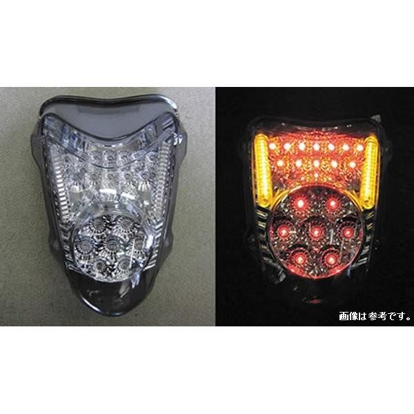 オダックス Odax インテグレートテール ライト クリア スズキ 隼 GSX1300R 08年以降 JST-353019C-W HD店