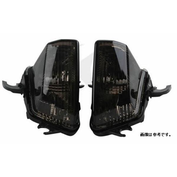 オダックス Odax LED ウインカー フロント LEDバルブ仕様 左右2個セット スモーク OXB-410454-Y-OP Ninja1000 10年-16年 JSW-14091-L-S HD店
