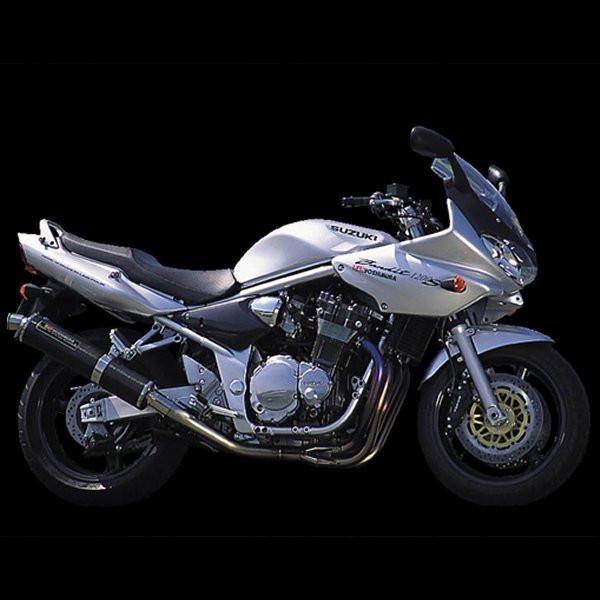 ヨシムラ 機械曲チタンサイクロン フルエキゾースト -06年 BANDIT1200 (TS) 110-112-8251 HD店