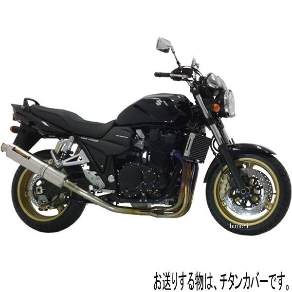 ヨシムラ 機械曲チタンサイクロン フルエキゾースト -05年 GSX1400 (TT) 110-114-8282 HD店