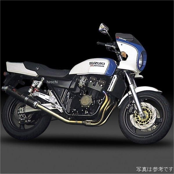 ヨシムラ 機械曲チタンサイクロン フルエキゾースト 94年-02年 GSX400 IMPULSE (TC/FIRE SPEC) 110-152F8291 HD店