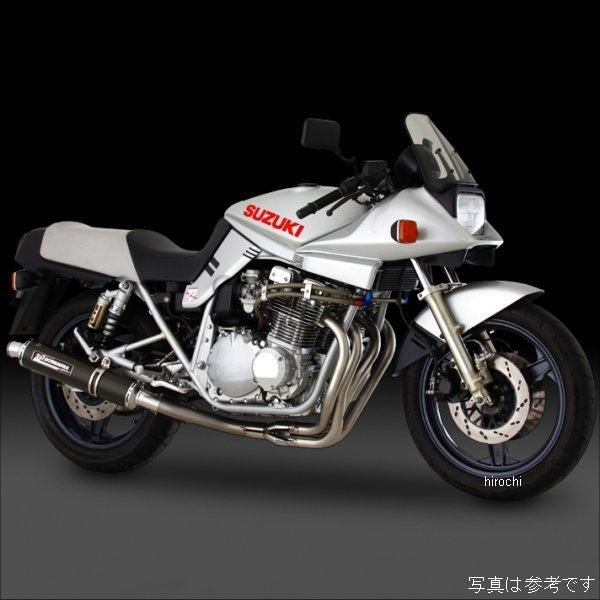 ヨシムラ 機械曲チタンサイクロン フルエキゾースト 全年式 GSX1100S (TTB) 110-191-8280B HD店