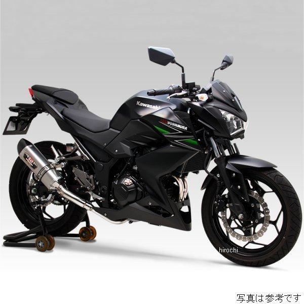ヨシムラ 機械曲 R-77S サイクロン EXPORT SPEC フルエキゾースト 13年以降 Ninja250、Z250 (STC) 110-227-5181 HD店