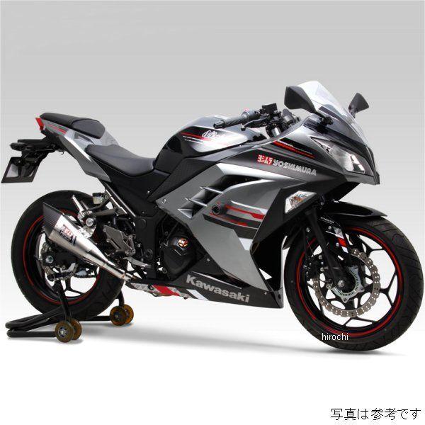 ヨシムラ 機械曲 R-11 サイクロン EXPORT SPEC フルエキゾースト 13年以降 Ninja250、Z250 (SS) 110-227-5F51 HD店