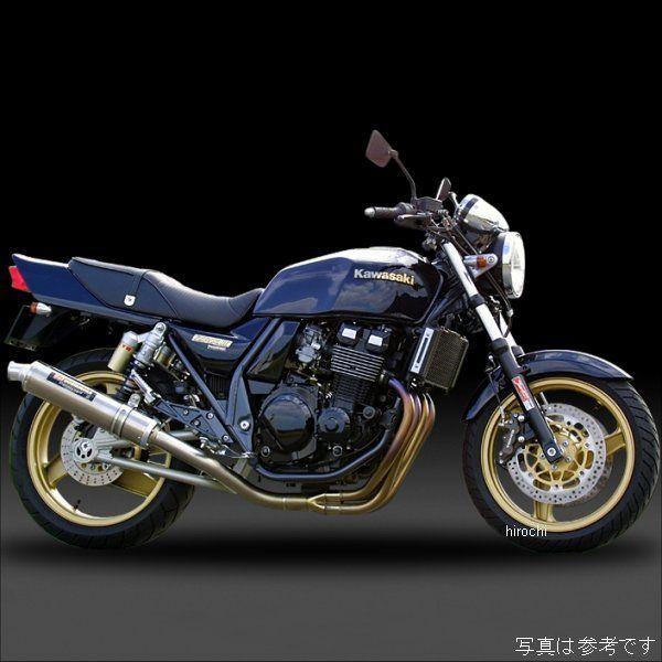 ヨシムラ 機械曲チタンサイクロン FIRE SPEC フルエキゾースト 08年以前 ZRX400、ZRX400 II (TC) 110-232F8294 HD店
