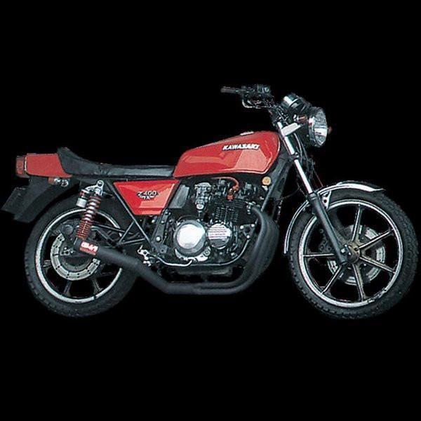 ヨシムラ 機械曲ストレートサイクロン フルエキゾースト 96年以前 Z400FX、Z400GP、ZEPHYR400 スチール 110-241-4640 HD店