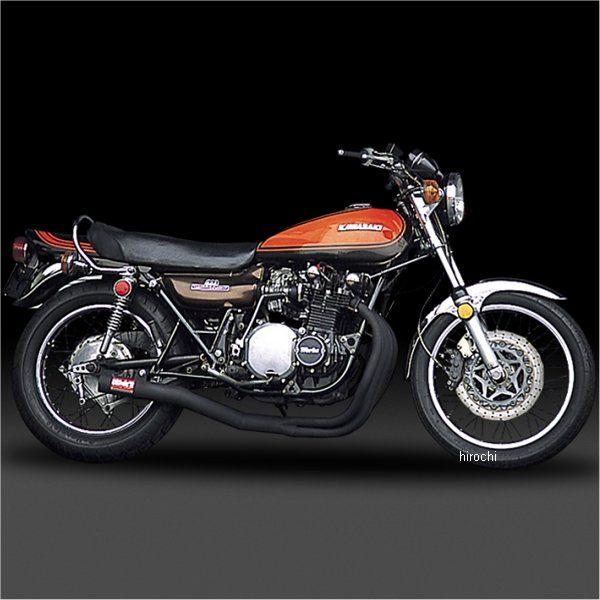 ヨシムラ 機械曲ストレートサイクロン フルエキゾースト Z1、Z2 スチール 110-291-4640 HD店