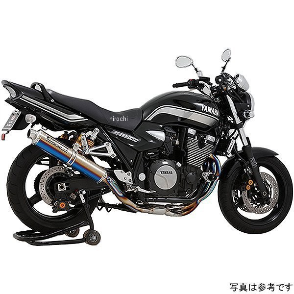 ヨシムラ 機械曲チタンサイクロン LEPTOS フルエキゾースト (政府認証) 07年以降 XJR1300 (TC) 110-313-8291 HD店