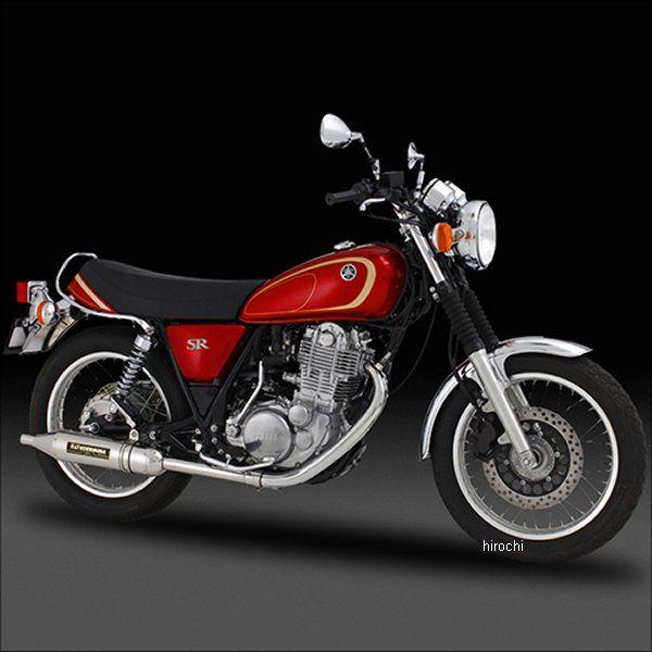 ヨシムラ パトリオット サイクロン スリップオンマフラー 10年以降 SR400 FI、03年-08年 SR400 キャブ車 (SS) 110-357-5T50 HD店