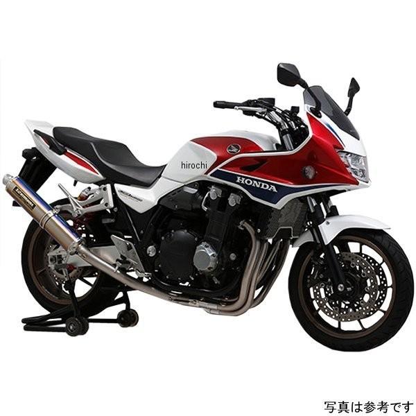 ヨシムラ 機械曲チタンサイクロン LEPTOS フルエキゾースト (政府認証) TT(チタンカバー) 110-41C-8280 HD店