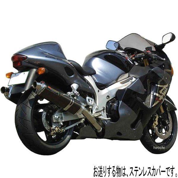 ヨシムラ TRI-OVALサイクロン 1エンド スリップオンマフラー -06年 GSX1300R HAYABUSA 北米仕様、EU仕様 (SS) 110-502-5451 HD店