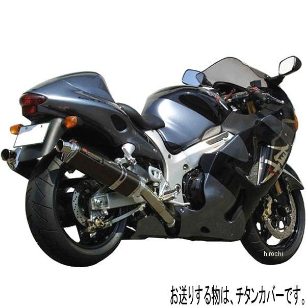 ヨシムラ TRI-OVALサイクロン 1エンド スリップオンマフラー -06年 GSX1300R HAYABUSA 北米仕様、EU仕様 (ST) 110-502-5481 HD店