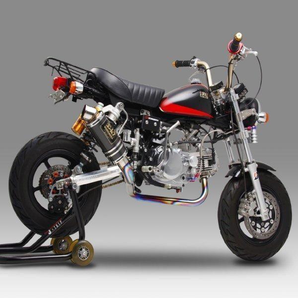 ヨシムラ レーシングチタンサイクロン GP-MAGNUM FIRE SPEC フルエキゾースト モンキー(MONKEY) (TT) 150-401F8U80 HD店