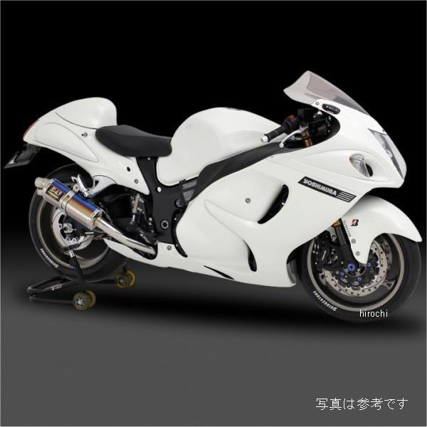 ヨシムラ レーシング TRI-OVAL サイクロン 2END スリップオンマフラー 08年以降 GSX1300R 国内/北米/EU仕様 (SC) 150-509-5H90 HD店