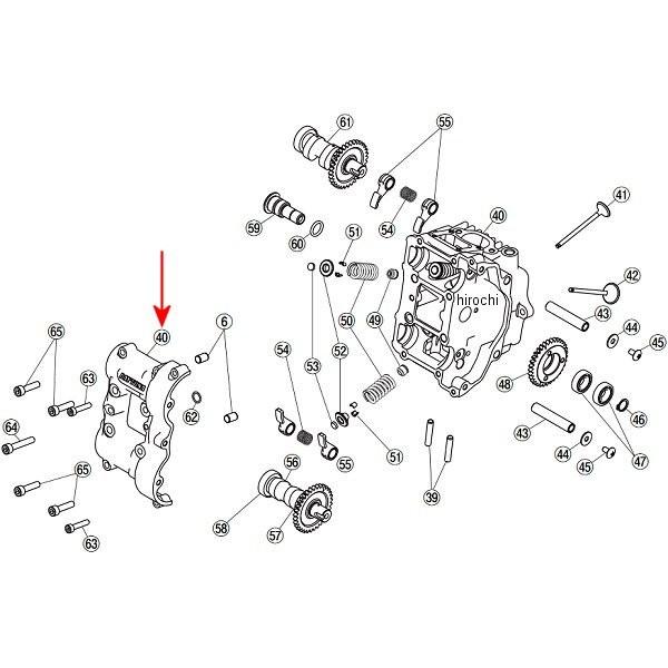 デイトナ フィンガーフォロアー DOHC 補修部品 シリンダーヘッド&カバーセット 78953 HD店