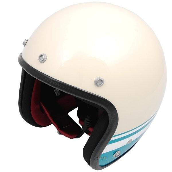 【メーカー在庫あり】 デイトナ ノーラン NOLAN Hattrick DA01BL オリジナルジェットヘルメット アイボリー/ターコイズ XL 90392 HD店