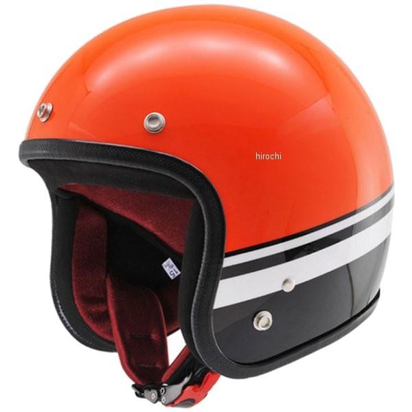 デイトナ ノーラン NOLAN Hattrick DA01BL オリジナルジェットヘルメット オレンジ/黒 フリー 91492 HD店