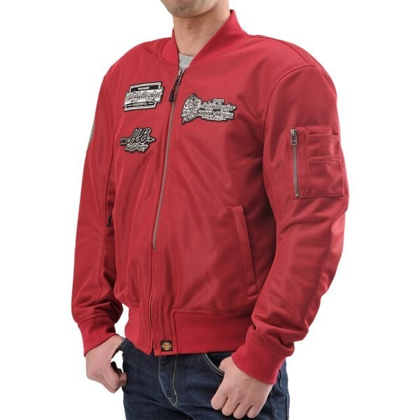 HBJ-036 ヘンリービギンズ HenlyBegins MA-1ジャケット ワイン赤 サイズXL 93883 HD店
