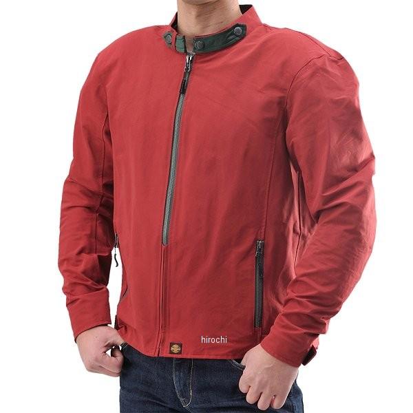 【メーカー在庫あり】 HBJ-035A デイトナ ヘンリービギンズ 60/40マウンパクロスライダースジャケット 赤 サイズL 94091 HD店