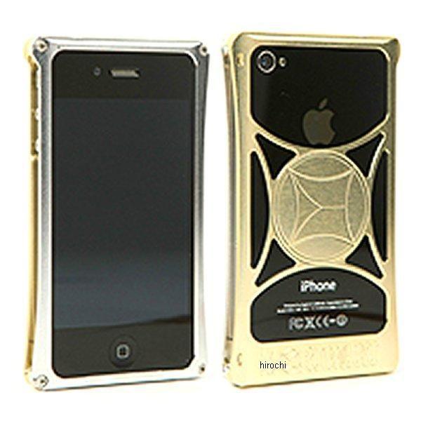 モリワキ iPhone4s、4用 ケース クリア/ゴールド 710-A01-0043 HD店