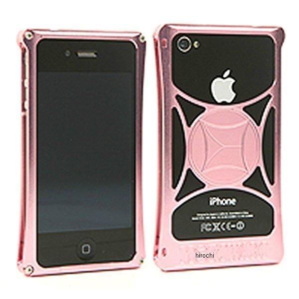 モリワキ iPhone4s、4用 ケース ピンク/ピンク 710-A01-0055 HD店