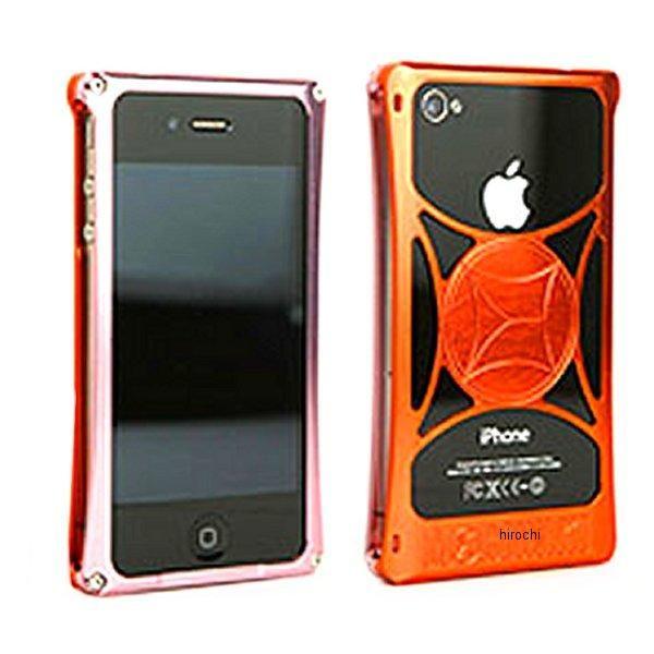 モリワキ iPhone4s、4用 ケース ピンク/オレンジ 710-A01-0056 HD店